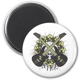 Circle of Skulls Fridge Magnets