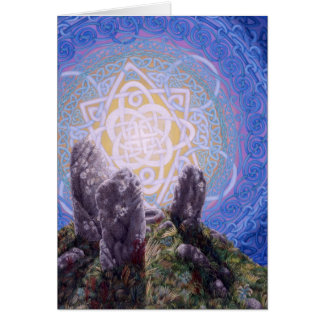 Circle of Stones, by Darlene P. Coltrain Card