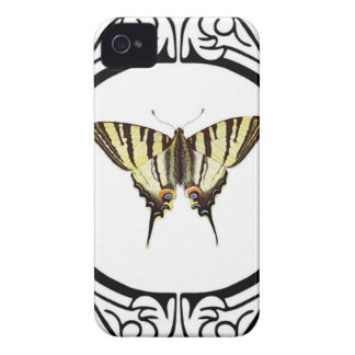 circle of the butterfly Case-Mate iPhone 4 case
