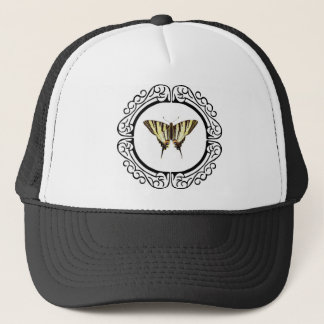 circle of the butterfly trucker hat