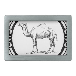 circle of the camel belt buckle