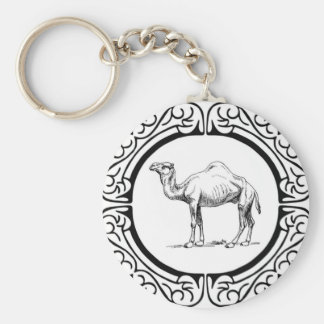 circle of the camel key ring