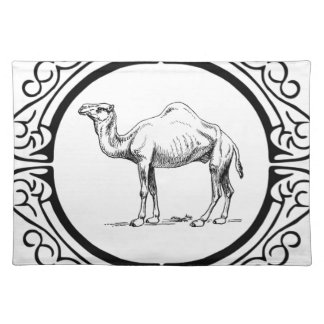 circle of the camel placemat
