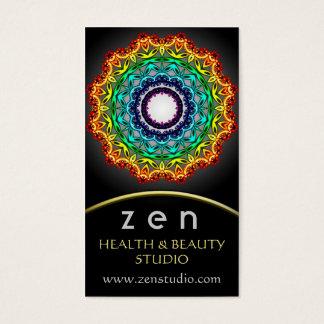 Circle Ornament Mandala Art, Business Card