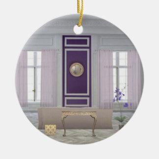 Circle ornament StanzaViola