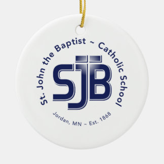 Circle Ornament w/ SJB Logo