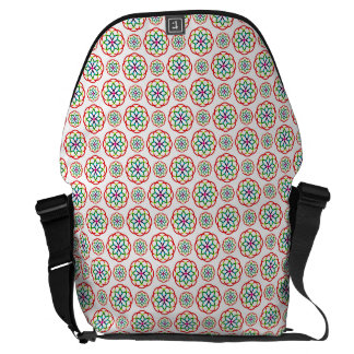 CIRCLE PATTERN ~ COURIER BAGS