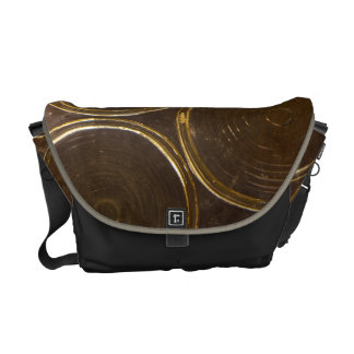 Circle pattern courier bags