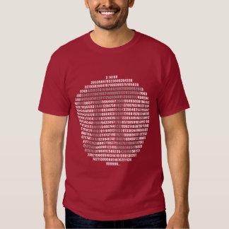 Circle PI Numbers Tee
