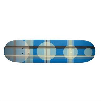 Circle Plaid Skateboard Decks