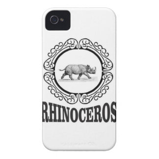 Circle Rhino iPhone 4 Case