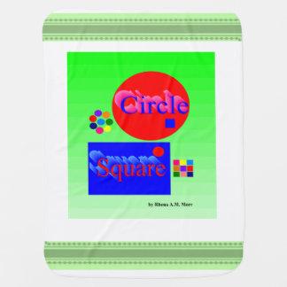 Circle Square Baby Blanket