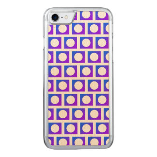Circle Square Blue Purple 4Randall Carved iPhone 8/7 Case