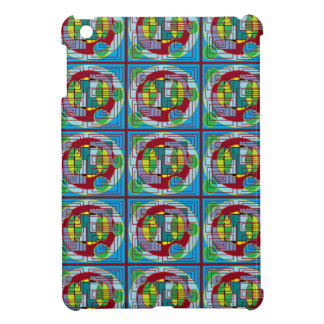circle square i-pad mini case case for the iPad mini