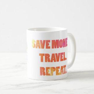 circle the globe 1 coffee mug