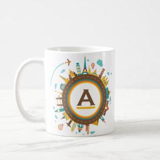 circle the globe 2 coffee mug