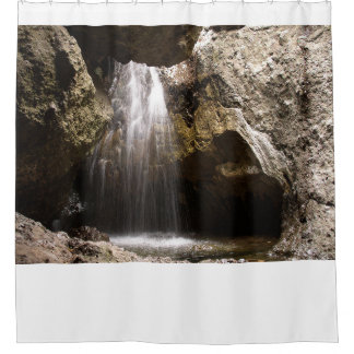 Circle X Grotto Shower Curtain