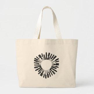 CircleCombs122410 Large Tote Bag