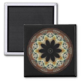 Circled Flower Magnets