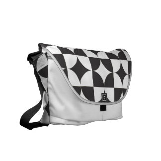 circled squares commuter bags