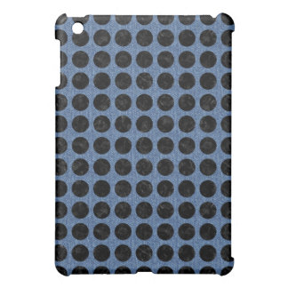 CIRCLES1 BLACK MARBLE & BLUE DENIM (R) CASE FOR THE iPad MINI