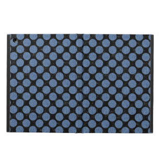 CIRCLES2 BLACK MARBLE & BLUE DENIM CASE FOR iPad AIR