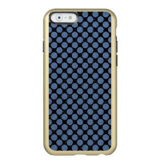 CIRCLES2 BLACK MARBLE & BLUE DENIM INCIPIO FEATHER® SHINE iPhone 6 CASE