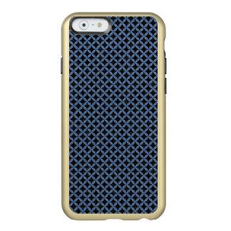 CIRCLES3 BLACK MARBLE & BLUE DENIM INCIPIO FEATHER® SHINE iPhone 6 CASE