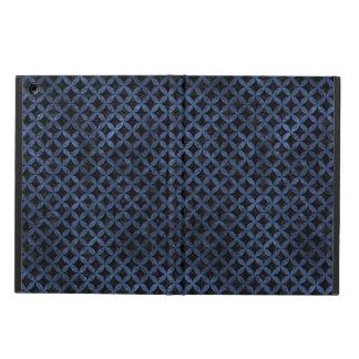 CIRCLES3 BLACK MARBLE & BLUE STONE CASE FOR iPad AIR