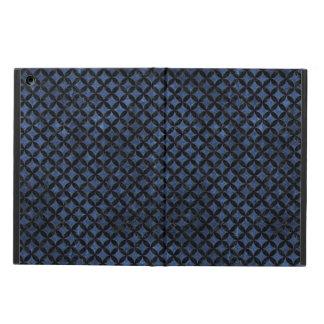 CIRCLES3 BLACK MARBLE & BLUE STONE (R) iPad AIR CASE