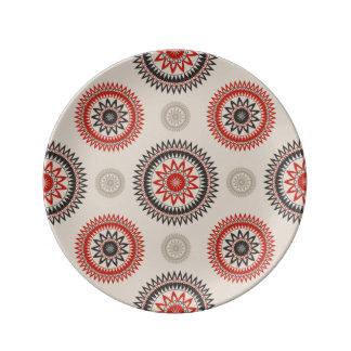 """CIRCLES 8.5"""" Decorative Porcelain Plate"""