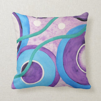 Circles Abstract pattern Cushion