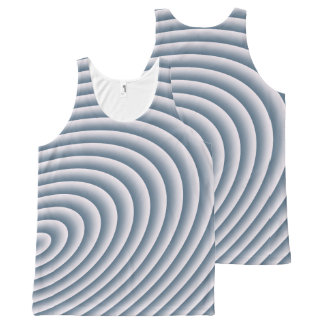 Circles All-Over Print Singlet