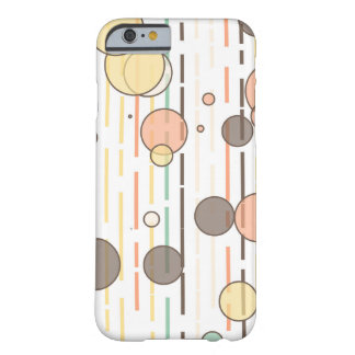 Circles and lines barely there iPhone 6 case