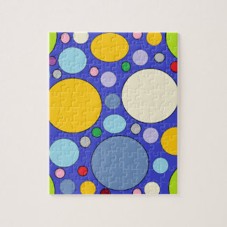 circles and polka dots jigsaw puzzle