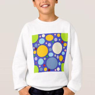 circles and polka dots sweatshirt