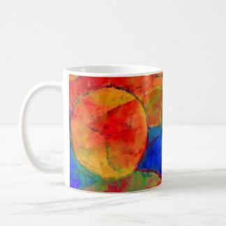Circles and roundnesses coffee mug