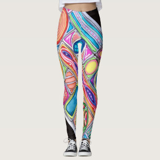 Circles Are Square Women's Leggings