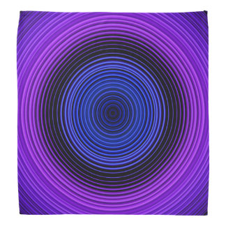 Circles - Blue Bandana