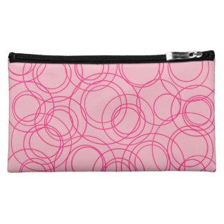 Circles Cosmetic Bag
