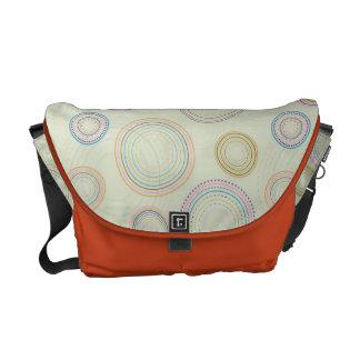 Circles Courier Bag