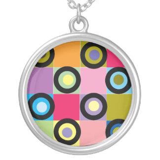 Circles In Squares Pendant