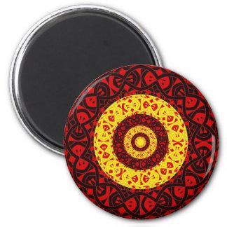 Circles Refrigerator Magnet