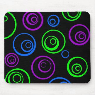 circles mouse pad