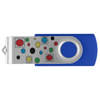 circles 'n squares USB by DAL USB Flash Drive