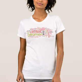 Circles Of Women South Central Word Art Tee Shirt