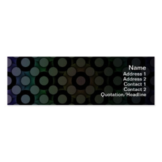 Circles Pack Of Skinny Business Cards