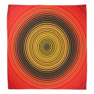 Circles - Red Yellow Black Bandana