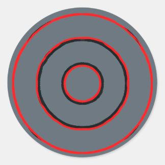 circles round sticker