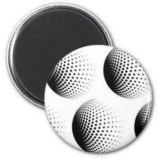 Circling 6 Cm Round Magnet